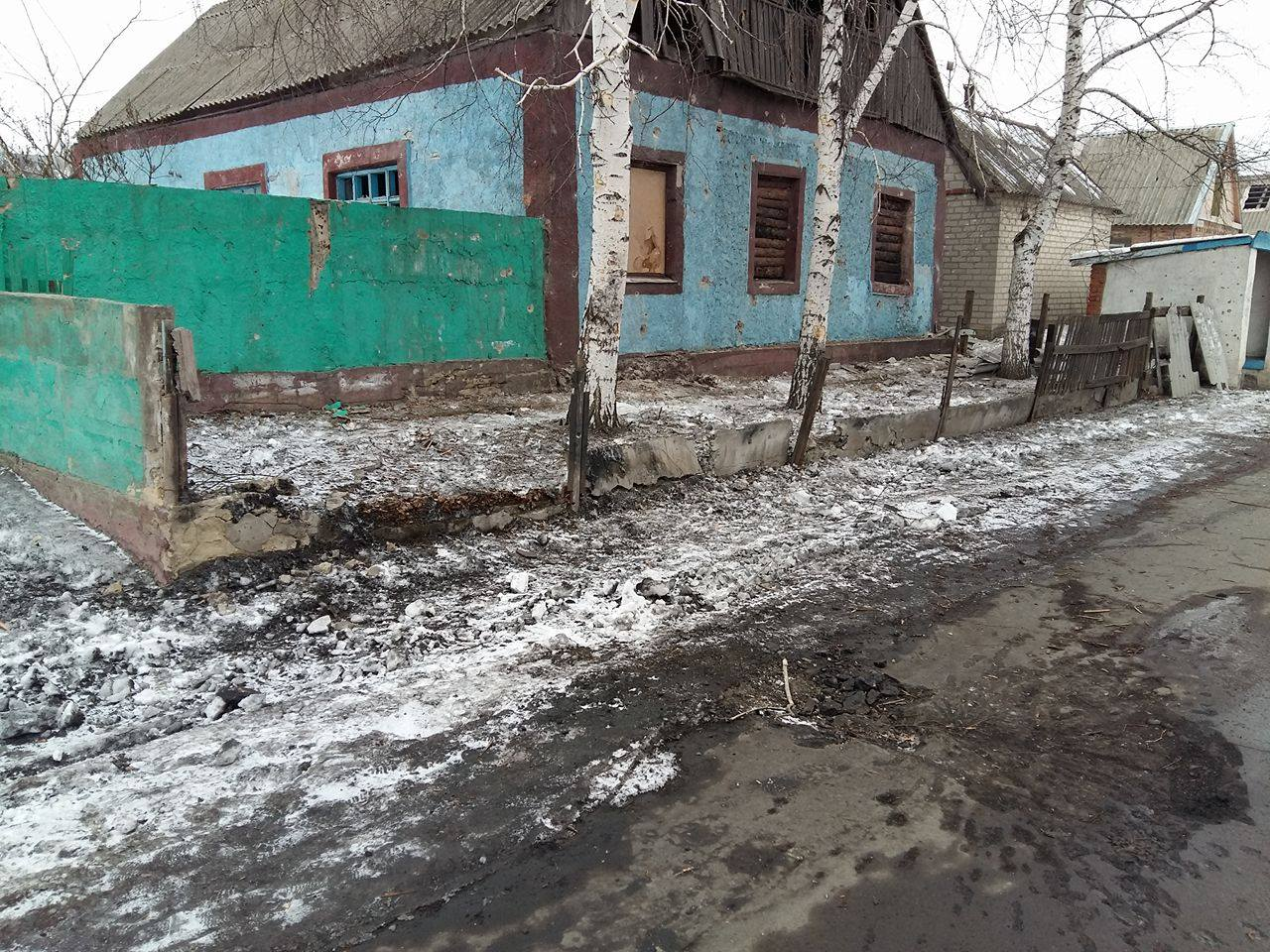 ATO HQ reports Russia's occupation forces shell Dokuchayevsk