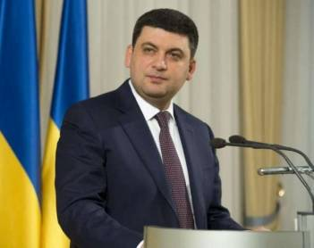 Ukrainian PM welcomes Ankara's decision to ban Turkish ships from visiting Crimea