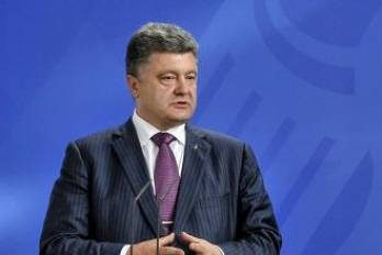 Poroshenko stresses priority of diplomatic, political and legal way to return Donbas, Crimea