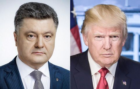 Poroshenko, Trump to discuss increase in Washington's support for Ukraine, continuation of sanctions against Russia
