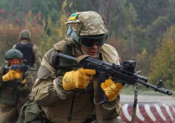 Ukraine reports nine enemy attacks, one wounded serviceman in past 24 hours
