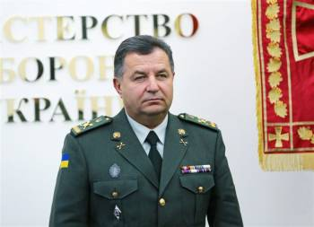 Poltorak says he has nothing to do with decision to withdraw forces from Crimea in March 2014