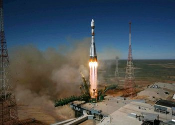 Vega launch vehicle with Ukrainian engine lifts off from French Guiana space centre