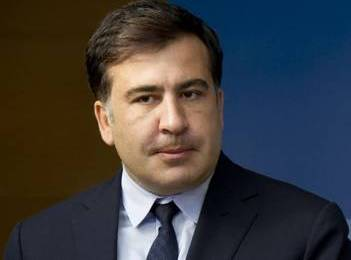 Ukrainian border guards familiarize Saakashvili with illegal border crossing report