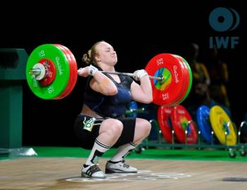 Ukrainian sportswoman comes second at European Weightlifting Championship