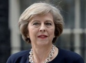 May calls for strengthening transatlantic partnership to respond to Russia's actions in Ukraine