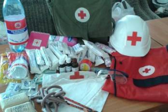ICRC sends truck with medical goods to Donbas territory uncontrolled by Kyiv