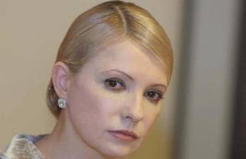 Tymoshenko demands energy regulator stop considering rise in heat, hot water rates