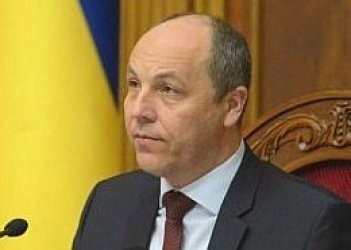 Parubiy closes Rada plenary session 'for technical reasons'