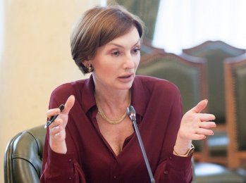 Kyiv district court restricts Rozhkova's powers as NBU deputy head