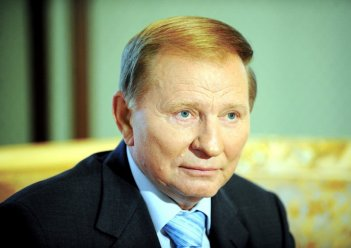 Kuchma warns against UN peacekeepers' deployment only on Donbas contact line