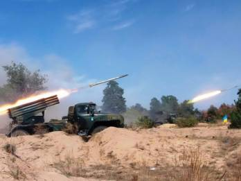 Two wounded in 29 enemy attacks on Ukrainian positions in Donbas