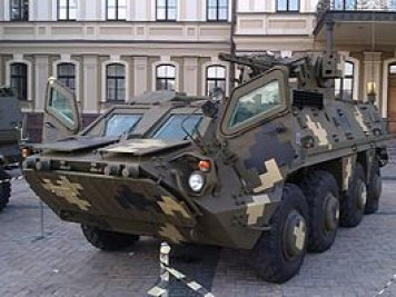 Indonesian marines begin using Ukrainian BTR-4M armored personnel carriers
