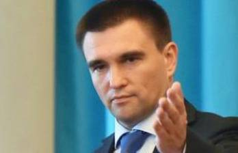 Klimkin, Lavrov discuss release of Ukrainian hostages, UN peacekeepers in Donbas