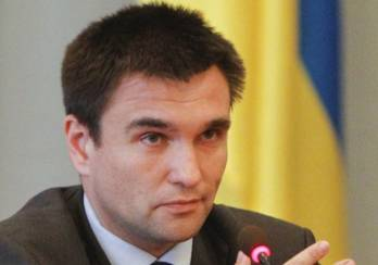 Klimkin calls conflict freezing alternative to peacekeepers introduction into Donbas