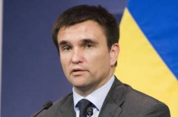 France won't back away from its policy on Ukraine despite dialogue with Russia over Syria - Klimkin