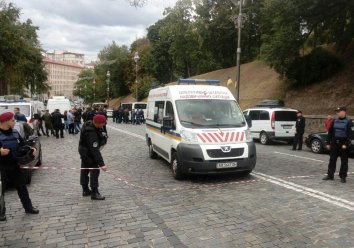 Investigators see explosion in central Kyiv as 'attempted killing'