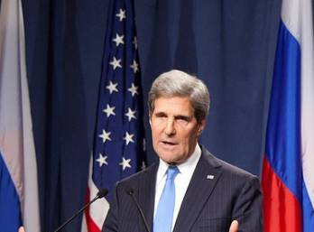 Kerry calls for more active fight against terrorists in Syria, more rapid settlement of Ukrainian problem
