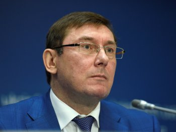 Lutsenko discusses possibility of Maidan events investigation, annexed Crimea and occupied Donbas with ICC representatives