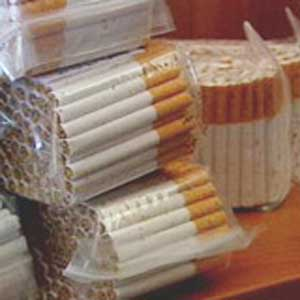 Smugglers try to smuggle 300 bags full of cigarettes from Zakarpattia region to Slovakia