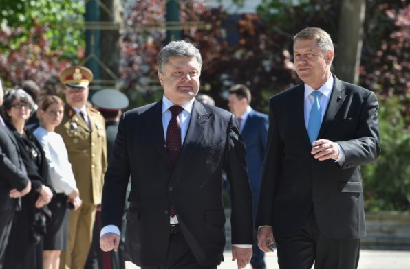 Presidents of Ukraine and Romania discuss continuation of cooperation in gas sector