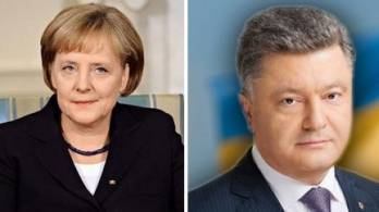 Poroshenko next week to discuss further Germany's participation in settling situation in Donbas with Merkel