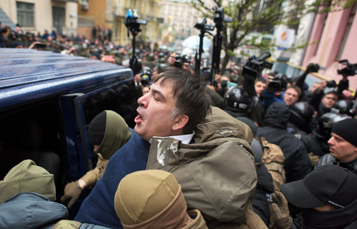 Saakashvili detained in Kyiv – source in law-enforcement agency