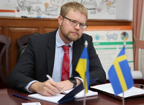 If corruption comes to bodies issuing documents in Ukraine, this can directly affect EU countries' security - Ambassador of Sweden