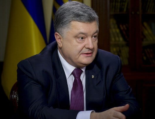 Peacekeepers in Donbas to ensure holding of free local elections - Poroshenko