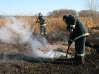 Peat bog fires spreading in Ukraine's Lviv region, casualties occur