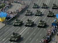 Kyiv hosts military parade
