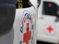 Trucks with more than 30 tonnes of ICRC humanitarian aid enter occupied Donbas