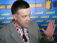 Svoboda Party report resumption of blocking of Russian truck transit in Ukraine