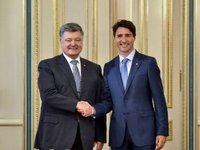 Poroshenko and Trudeau discuss course of reforms, peacekeeping mission in Donbas