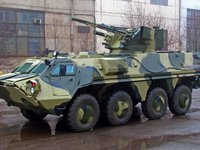 Kharkiv Morozov plant transfers another five BTR-4E armored vehicles to Defense Ministry