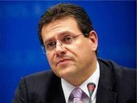 Sefcovic proposes involving Germany in quadrilogue to ensure gas transit via Ukraine