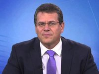 Sefcovic to speak in Brussels on June 22 on electricity sector reform in Ukraine