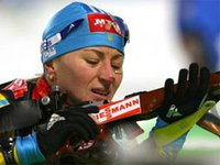 Vita Semerenko shows best result in biathlon sprint among Ukrainians being 14th at Olympic Winter Games 2018