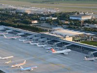 New terminal of Zaporizhia airport opens