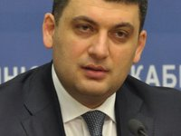 Deputy PM Hroisman appointed Ukraine's acting premier, says Avakov