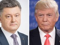 Poroshenko calls his dialogue with Trump 'brilliant'