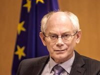 EU may consider lifting sanctions against Russia in late September if truce in Ukraine is observed, says Van Rompuy
