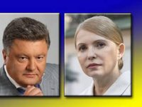 Tymoshenko, Poroshenko lead in presidential rating - poll