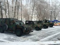 Cherkasy car factory develops light armored vehicle