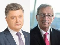 Poroshenko, Juncker discuss preparations for European investment conference to help Ukraine
