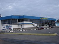About 50 armed men in military uniform seize Simferopol Airport in early hours of Friday