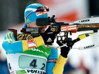 Ukrainian biathletes take bronze in relay at World Championship