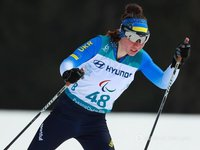 Biathlete Shyshkova brings fifth gold medal to Ukraine at Paralympics