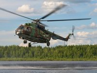 Five crewmembers killed in Ukrainian military helicopter crash