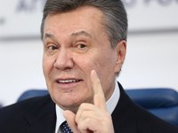 Yanukovych hospitalized with severe injury, unable to move